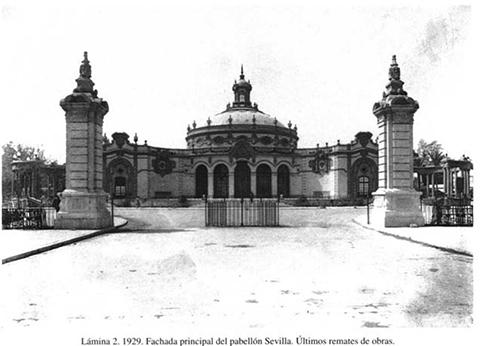 Reparación de la Cúpula del Casino de la Exposición en Sevilla